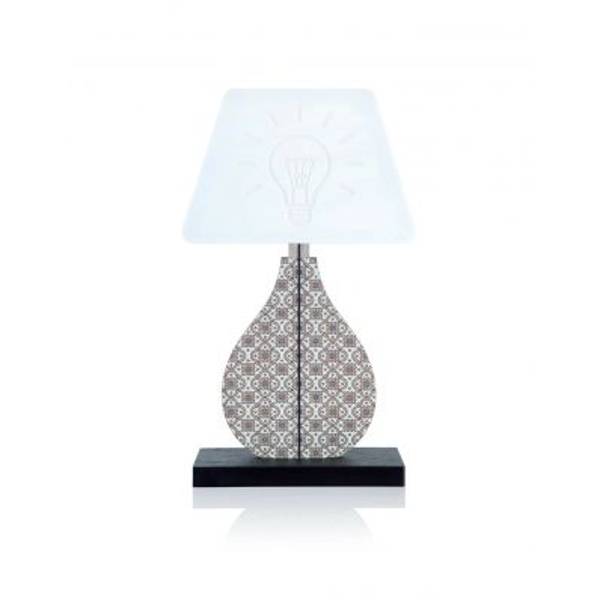 Lampada da tavolo abat jour a LED Shape Marrakech