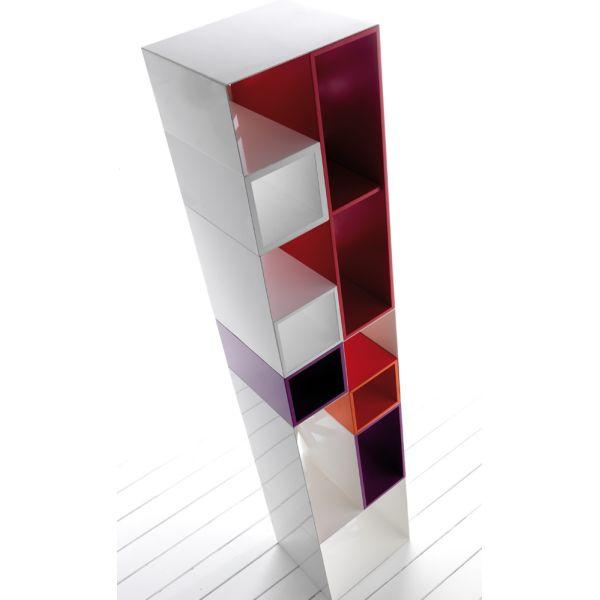 Domino libreria componibile mensole design moderna librerie moderne scaffali