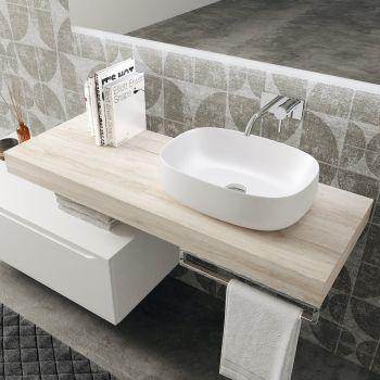 Mobili bagno sospesi design Aroon 90