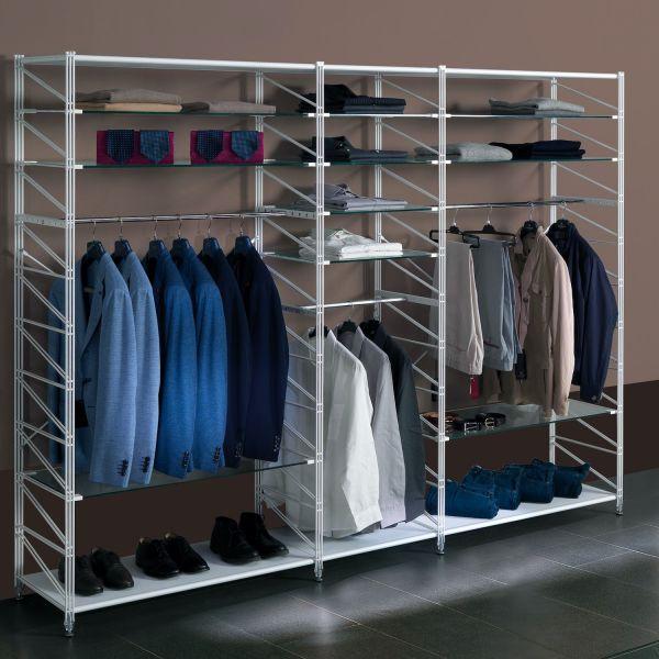 Cabina armadio componibile design moderno Socrate B