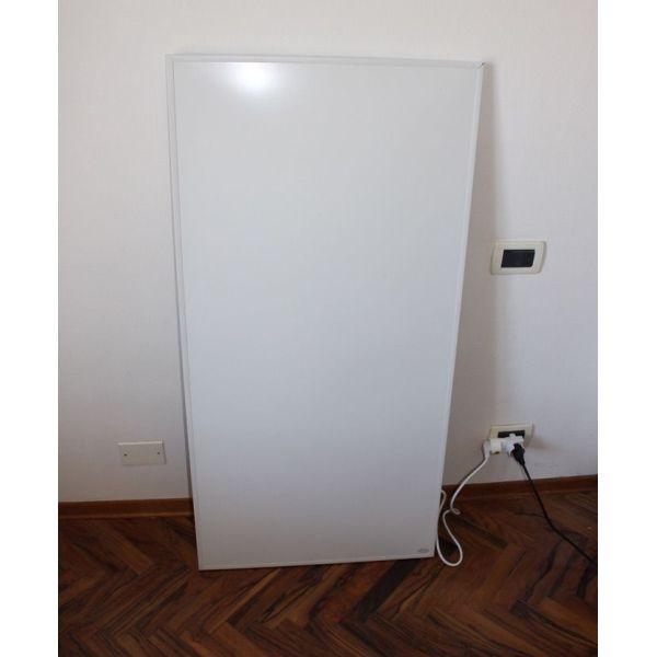 Pannello radiante da parete ad infrarossi 120 x 50 cm Crystal 1