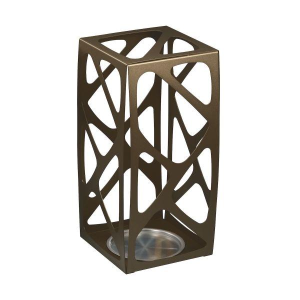 Portaombrelli design moderno in acciaio per ingresso casa Basket