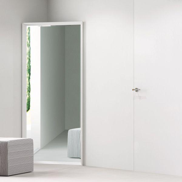 Specchiera angolare ingresso in alluminio Angolo Riflesso