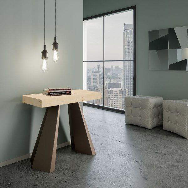 Tavolo consolle allungabile design moderno Shannon