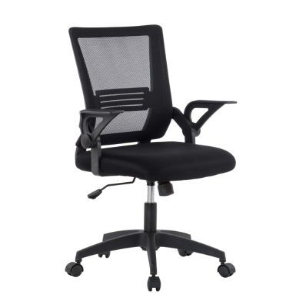 Sedia per ufficio operativa con schienale in rete Dixon