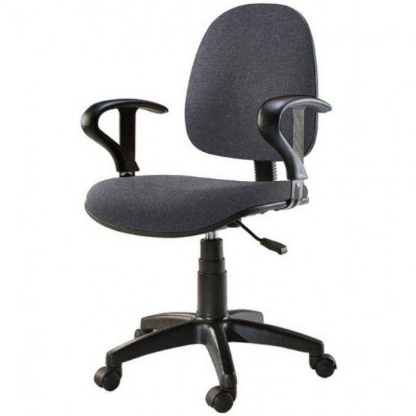 Sedia per ufficio operativa su ruote con schienale regolabile Easy