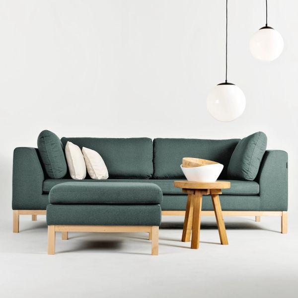 Divano 3 posti design moderno Ambient Wood