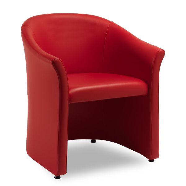 Poltrona design moderno per sala attesa o camera da letto Sirius
