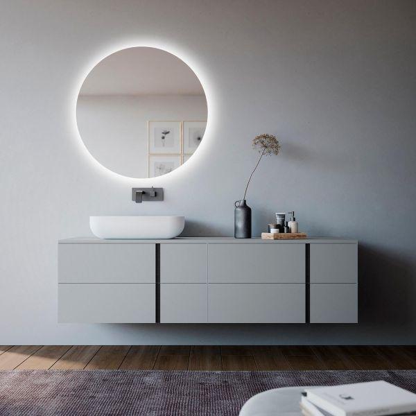 Mobili bagno design moderno Esigo 1 di Loetrà