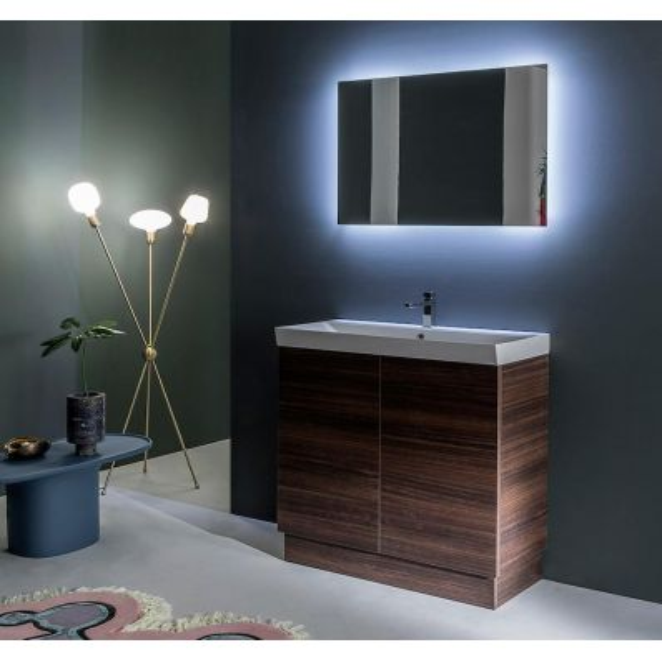Set mobili bagno salvaspazio Style 2 di Loetrà