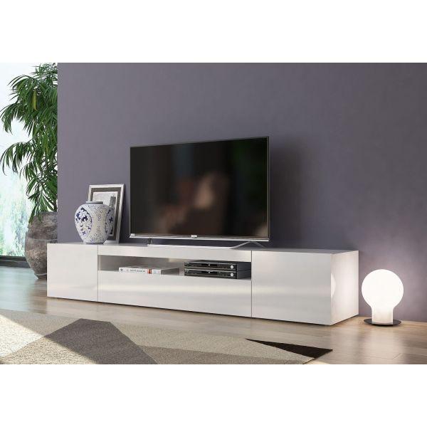 Mobile porta TV in legno L200 cm Bandol