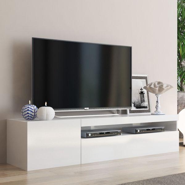 Base porta TV in legno 150 cm Bandol