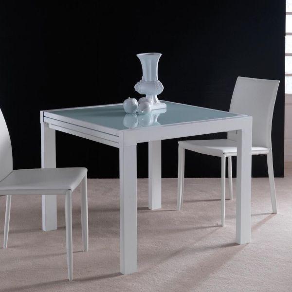 Tavolo quadrato allungabile Conrado - OUTLET