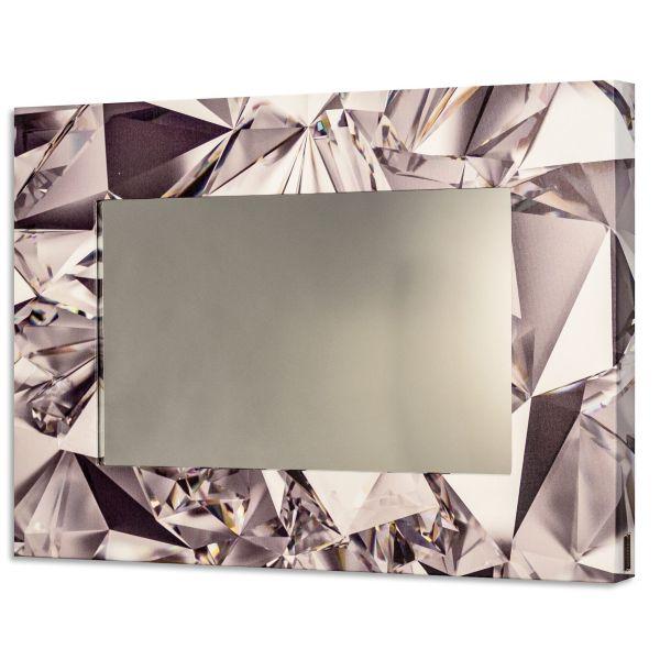 Specchio da parete moderno Diamonds - OUTLET