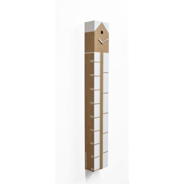 Orologio a cucu da parete in legno design moderno Cucumeter