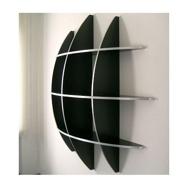 Libreria rotonda design moderno a forma di sfera Guidus170