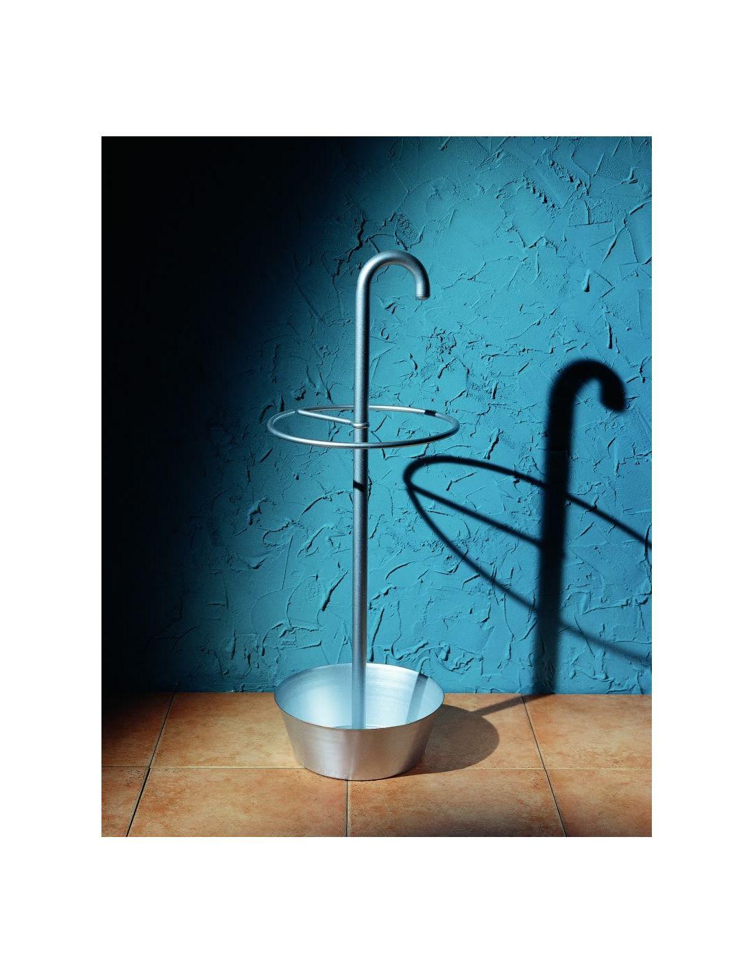 Portaombrelli scagno in acciaio porta ombrelli design - Portaombrelli design originale ...