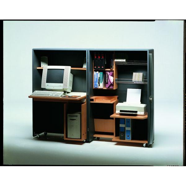 Mobile da ufficio completo richiudibile cyber box arredo for Arredo ufficio completo