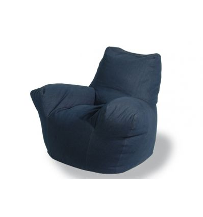Poltrona jeans open legs per salotto o camera da letto - Poltrone camera da letto design ...