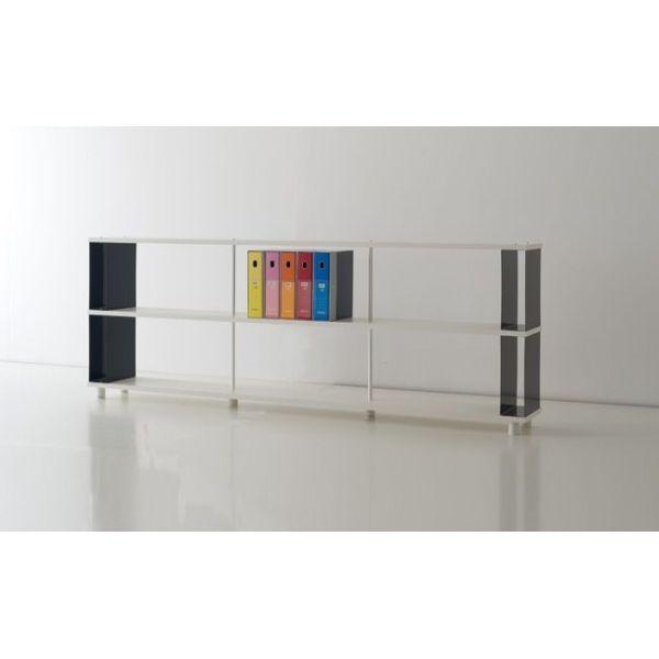 LIBRERIA modulare per ARREDAMENTO ufficio negozio SCAFFALATURA moderna