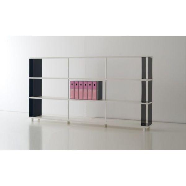 Libreria scaffale moderna per ARREDAMENTO ufficio o negozio scaffalature legno