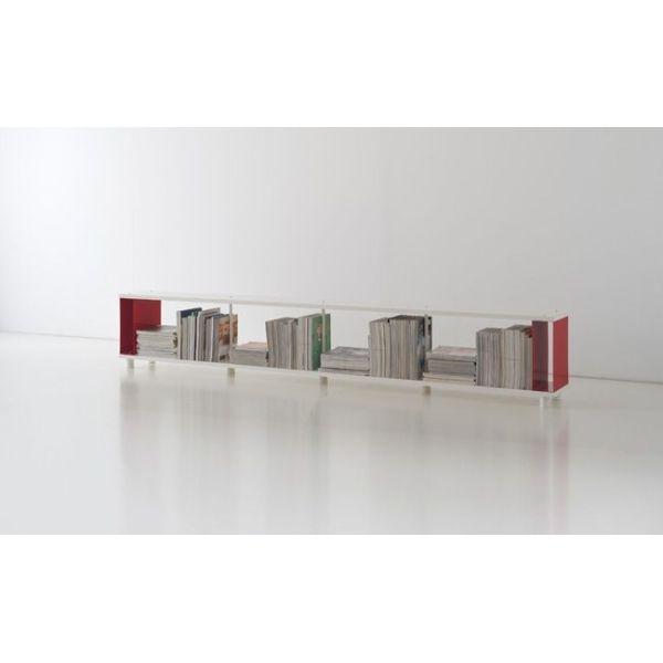 Libreria in legno scaffalatura per ufficio design moderno scaffali metallici