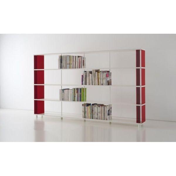 Home > Ufficio > Scaffali > Libreria a muro SKAC4 in metallo e legno...