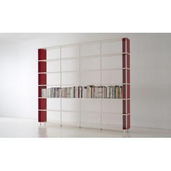 Libreria a parete moderna librerie SCAFFALI per negozio ufficio
