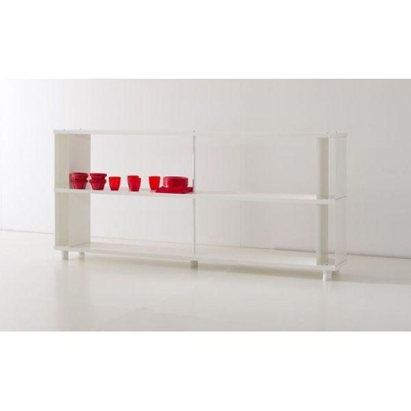 LIBRERIA modulare MODERNA design SCAFFALI in legno per uffici negozi