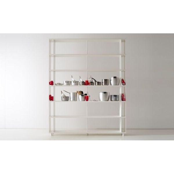 SCAFFALATURA modulare per arredo negozi o uffici LIBRERIE moderne componibili
