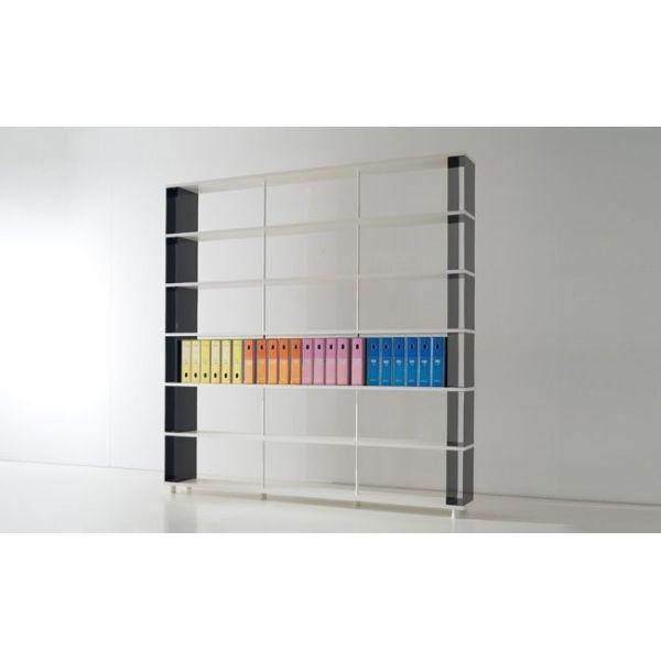 Scaffalatura componibile per ufficio e negozio scaffali moderni modulari