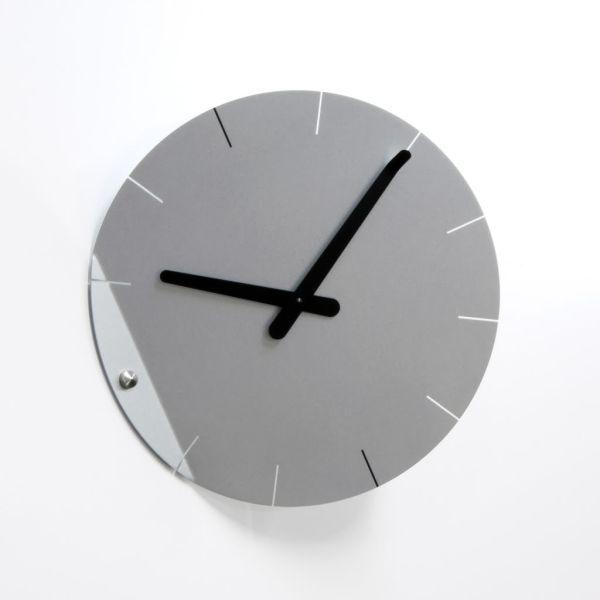 Orologi parete particolari in acciaio Sheet