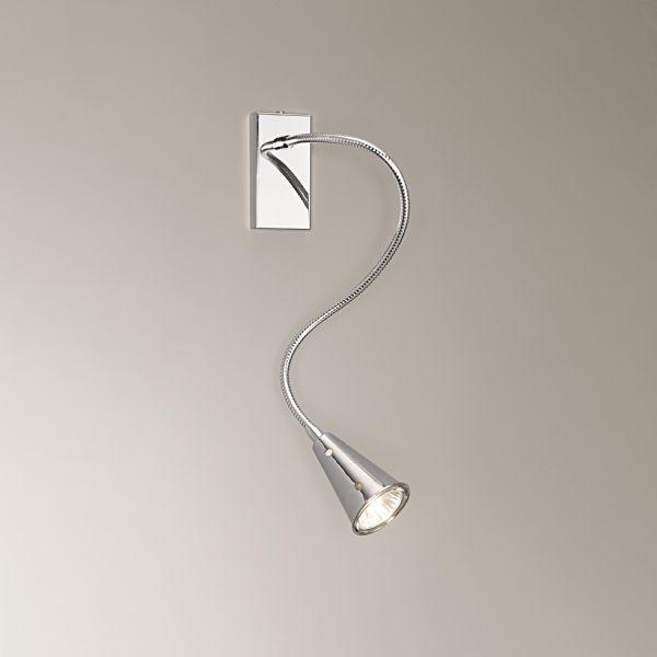 Lampada da parete con braccio flessibile per illuminazione interni ...