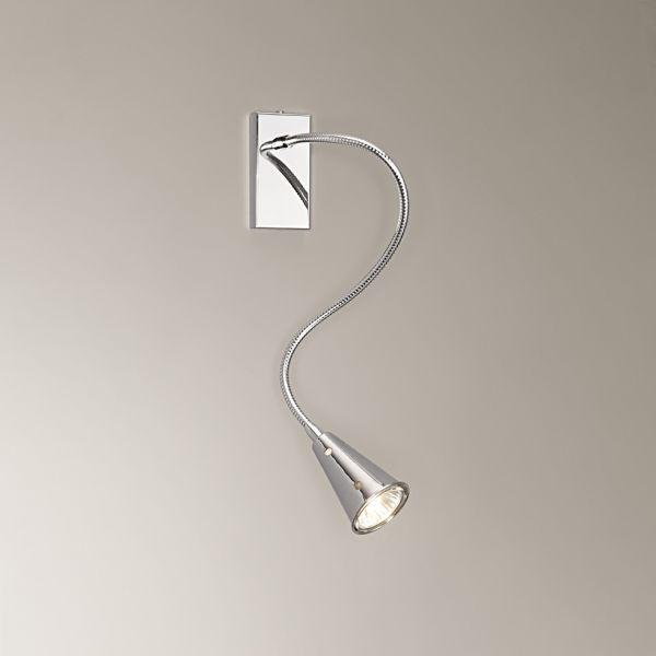 Lampada parete design moderno kripton faretto for Lampada a led camera da letto
