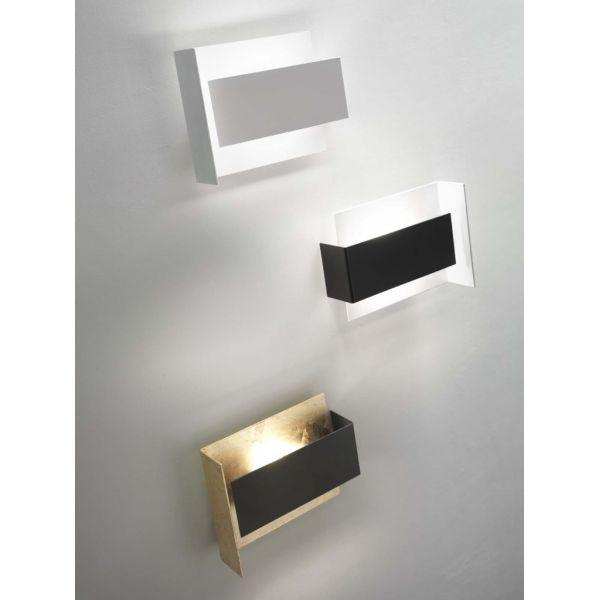 Tao d702 lampada da parete applique design in metallo for Lampada a led camera da letto