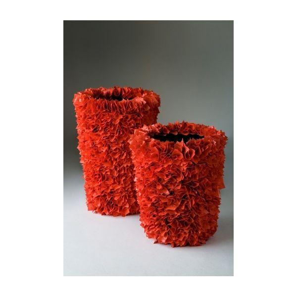 Vaso da esterno in materiale riciclato