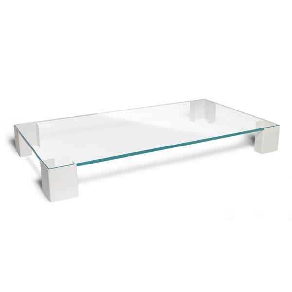 Tavolino da salotto in vetro Vanity