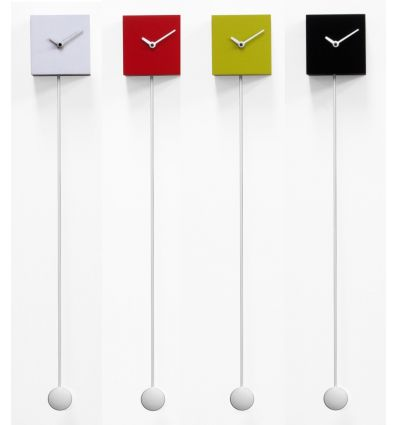 Orologio pendolo a muro design moderno Long_time