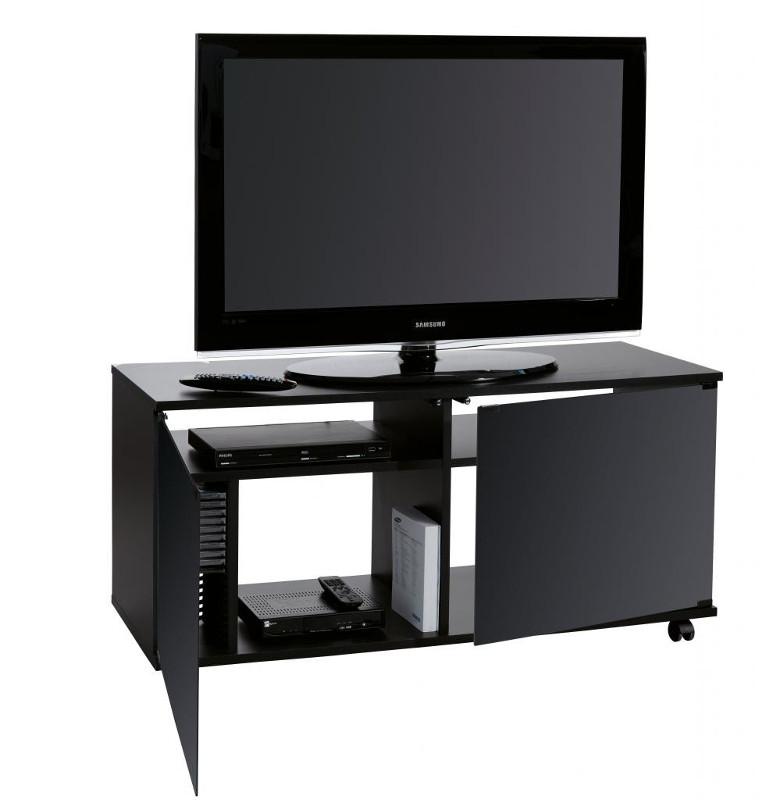 Carrello porta TV Mixa120 con ante in vetro
