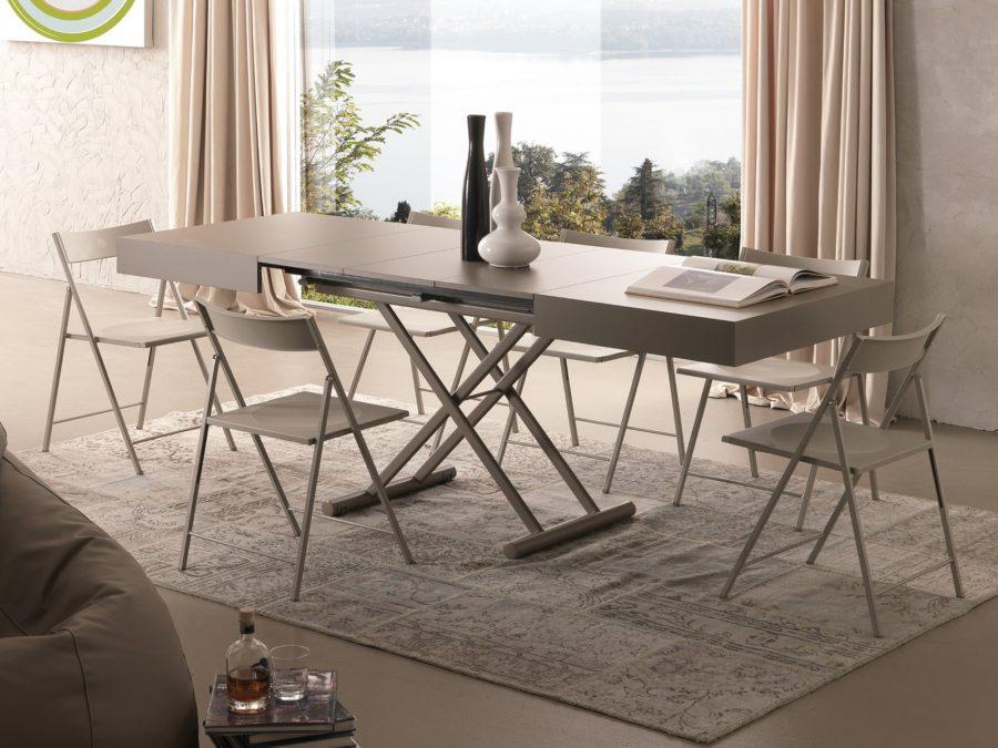 Tavolini trasformabili come creare una sala da pranzo in for Tavolini trasformabili ikea