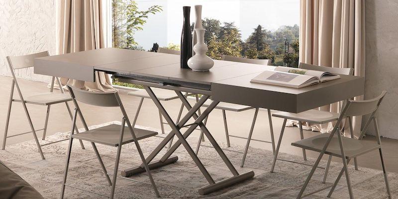 Tavolini trasformabili: come creare una sala da pranzo in pochi secondi