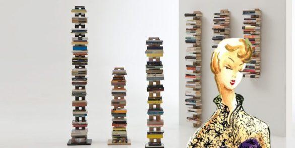 Librerie verticali a colonna