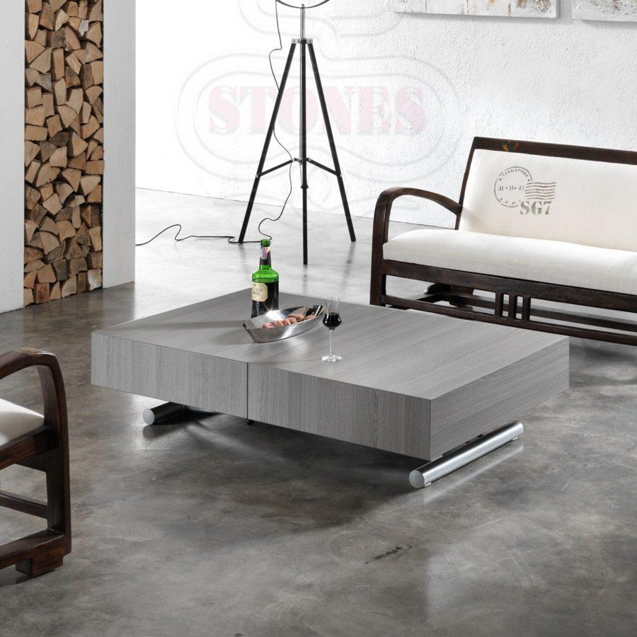 Tavolini trasformabili come creare una sala da pranzo in - Divano e tavolo da pranzo ...