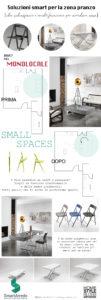 Sedie e tavolini pieghevoli infografica