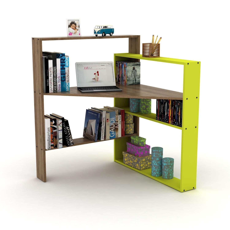 Libreria Angolare Con Scrivania.Scrivania Angolare Con Libreria Geometry Smartarredo Blog