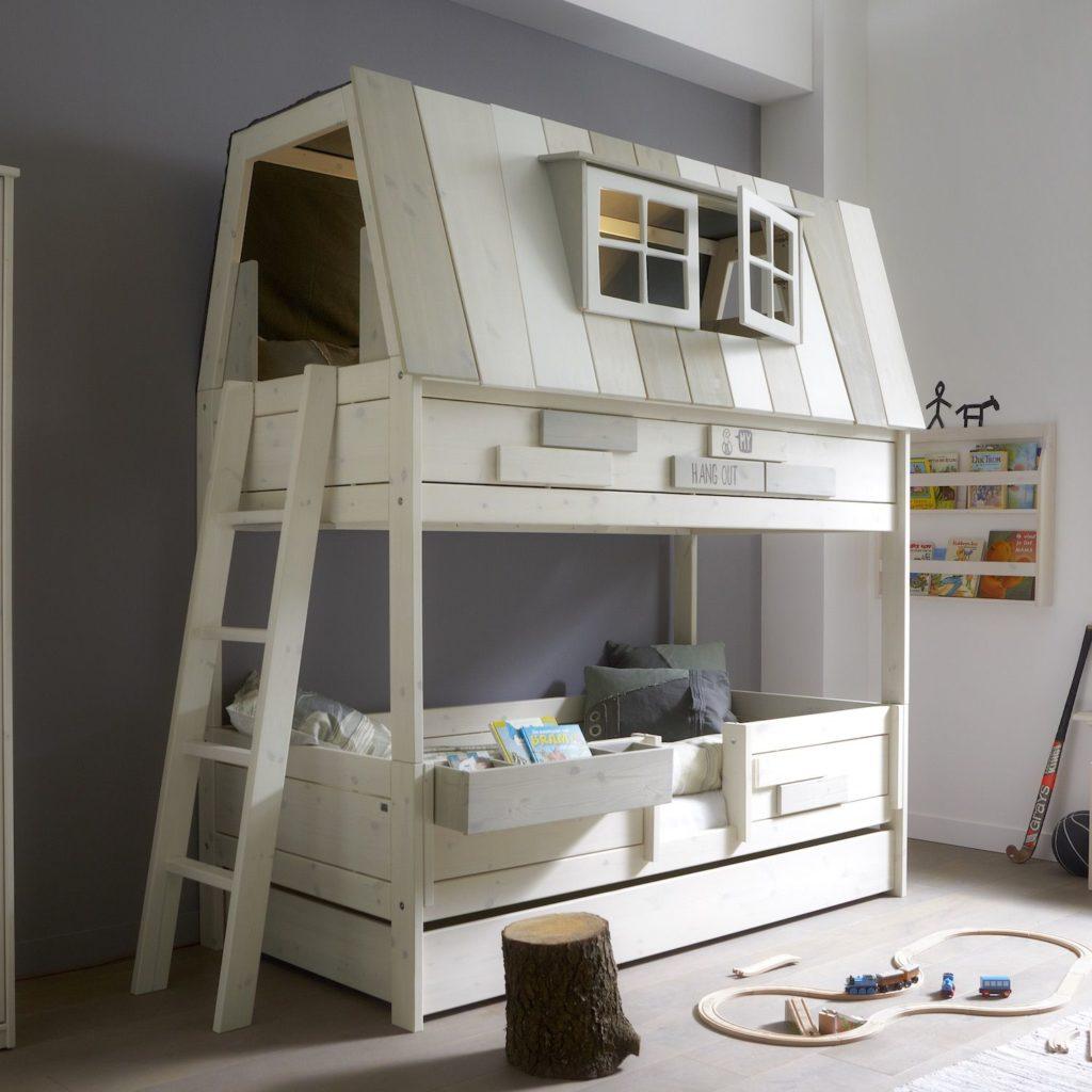 Cameretta per bambini con letto a castello Hangout 4