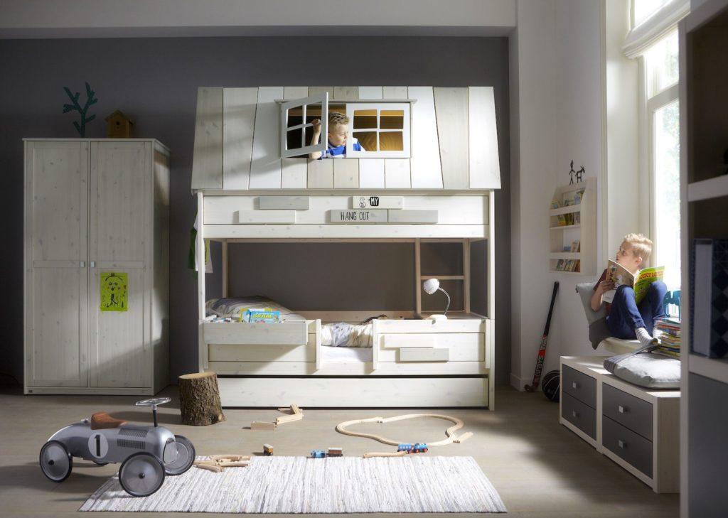 Cameretta per bambini con letto a castello Hangout 3