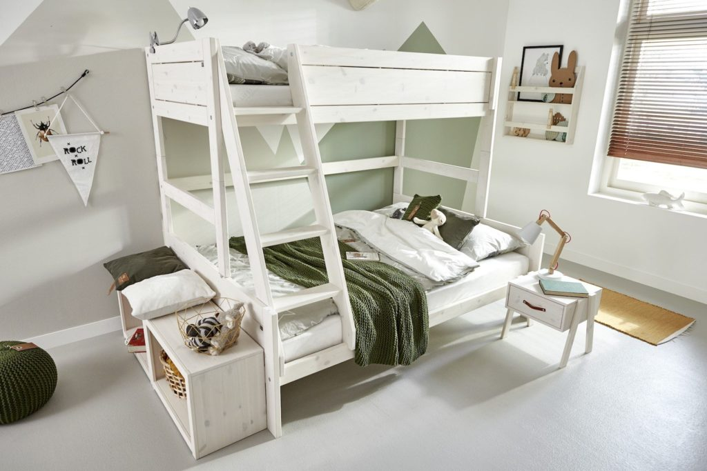 Letto a castello design scandinavo Family