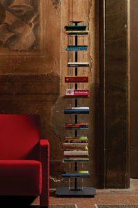 Libreria verticale salvaspazio Ziadele