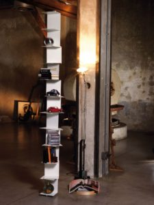 Libreria verticale pavimento soffitto Ghost